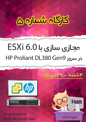 Zemestan95 workshop Esxi 6.0 HP2