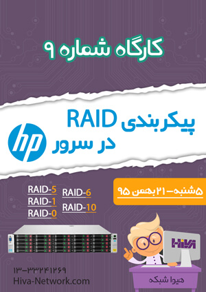 Zemestan95 workshop HP Raid 300