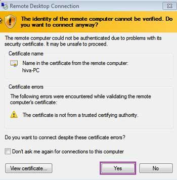 آموزش Remote desktop گروه آموزشی هیوا