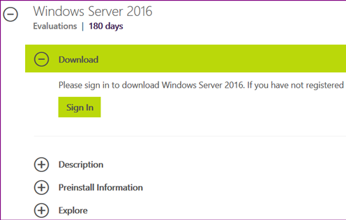 Installing Windows Server 2016 01