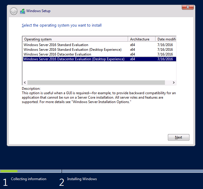 Installing Windows Server 2016 04